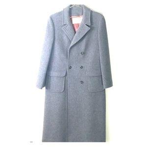 Pendlenton grey womens 100% wool coat size 12
